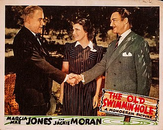Charles D. Brown - Brown at left in the 1940 film The Old Swimmin' Hole