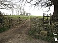 Old gates and stile - geograph.org.uk - 1219071.jpg