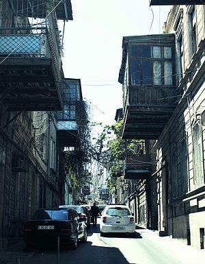 Sovetsky, Baku - One of the old streets in Sovetsky