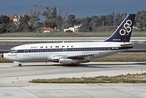 Olympic Airways Boeing 737-200Adv SX-BCA ATH May 1981.png
