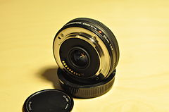 Olympus Zuiko Digital 25mm lens - rear.jpg