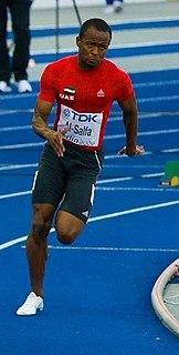 Omar Juma Al-Salfa Emirati sprinter