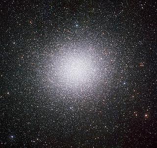 Omega Centauri globular cluster in the constellation Centaurus