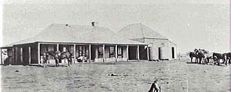 One Tree, New South Wales - One Tree Hotel in about 1922