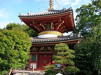 Shikoku - Anraku-ji in Kamiita, Tokushima