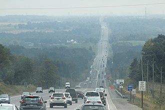 Ontario Highway 10 - Highway 10 through Caledon