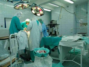 An operating theatre (gynecological hospital o...