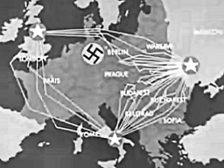 Operation frantic map