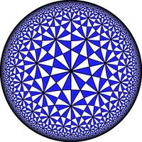 Hyperbolic Order-3 heptakis heptagonal tiling