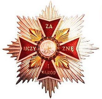 Józef Poniatowski - Order of White Eagle