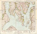 Ordnance Survey One-Inch Sheet 71 Island of Bute, Published 1945.jpg