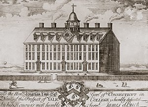 Science in the Age of Enlightenment - The original building at Yale, 1718–1782