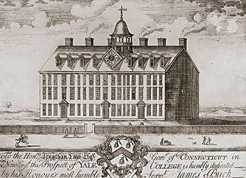 Original Yale College Building