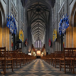 Loiret - Image: Orleans Cathedral int 01
