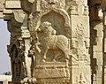 Ornate Nandi Pillar, Lepakshi, AP.jpg