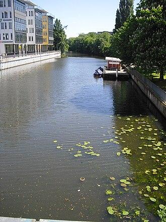 Osterbek - Osterbekkanal in Hamburg