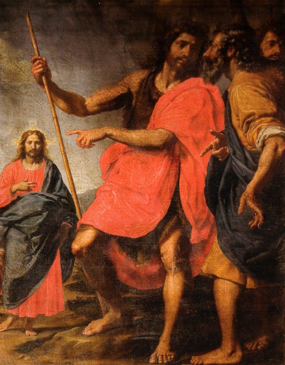 Ottavio vannini, san giovanni che indica il Cristo a Sant'Andrea