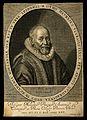 Otto Heurnius. Line engraving by C. van der Passe, 1642, aft Wellcome V0002740.jpg