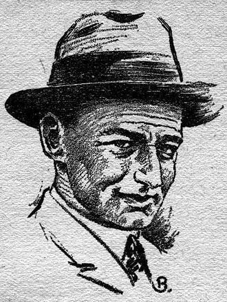 Otto Willi Gail - Otto Willi Gail, as depicted in the Fall 1929 issue of Science Wonder Quarterly