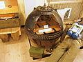 Oude opengewerkte contactmijn, Geniemuseum, Vught.JPG
