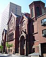 Our Lady of the Scapular-St. Stephen 29th Street facade from west.jpg
