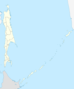 Yuzhno-Sakhalinsk is located in Sakhalin Oblast