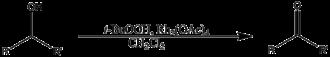 Rhodium(II) acetate - oxidation of alcohols
