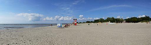 Pärnu beach - panorama