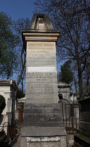Frédéric Monod - The tomb of Frédéric Monod in Père-Lachaise Cemetery.