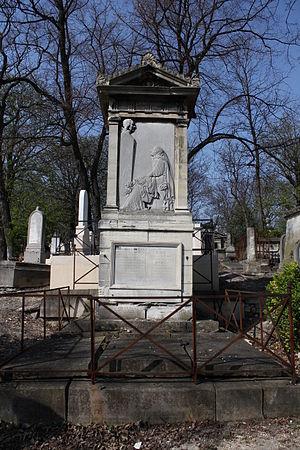 Edmund Bourke (1761–1821) - Père-Lachaise Cemetery.