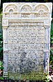 Písečné Jüdischer Friedhof.- Grabstein 2b.jpg
