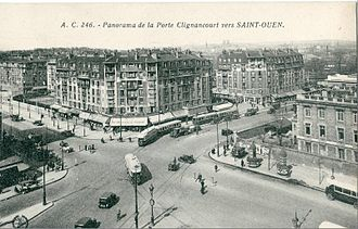 Paris between the Wars (1919–1939) - HBMs, or low-income housing projects, built at Porte Clignancourt in the 1930s