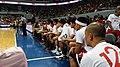 PBA - Barangay Ginebra vs GlobalPort - BGSM bench - 2015-1227 (23895706332).jpg