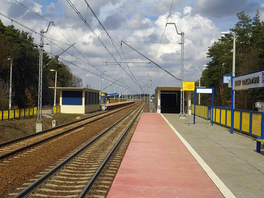 Brody Warszawskie railway station