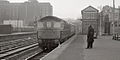 Post Office workers' train from Clapham Jct, 1968