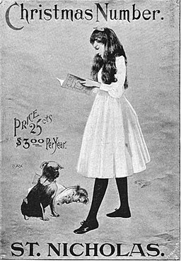 PP D343 poster by francis day for 'christmas number'