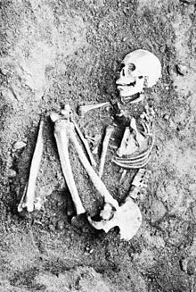PSM V50 D506 Burial posture found in robles rancheria excavations.jpg