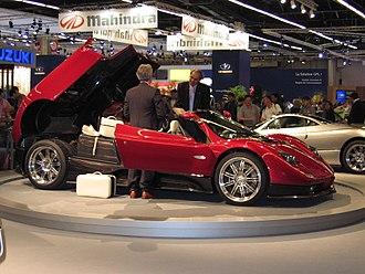 Pagani Zonda - Pagani Zonda S 7.3 Roadster