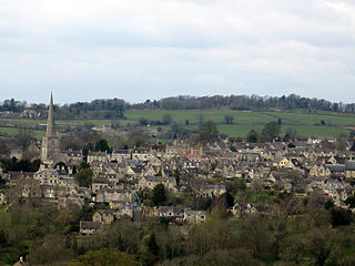 Painswick civil parish in Gloucestershire, England