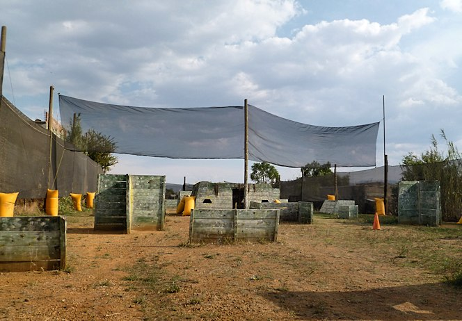 Paintball Venue in Mexico