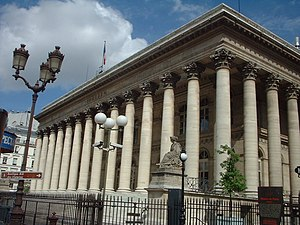 1825 in architecture - Image: Palais Brongniart Paris