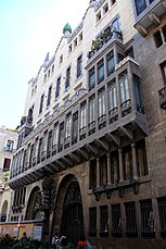 Palacio Güell, Barcelona (1885–1890)
