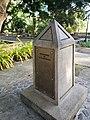 Palawan massacre historical marker 3, Plaza Cuartel, Puerta Princesa.jpg