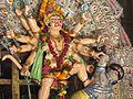 Panchamukhi Hanuman idol at Gosani Jatra, Puri.jpg