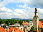 Polska - Kamienna Góra, Panorama miasta w kierunk