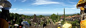 Panorama of Bali from Besakih - Mother temple.jpg