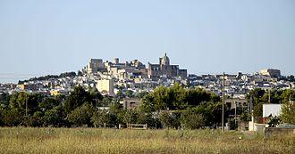 Oria, Apulia - Image: Panorama of Oria