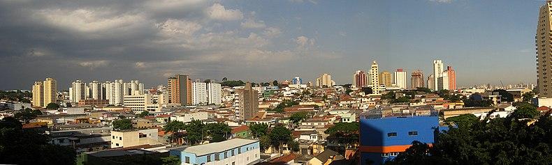 Panorama do bairro.