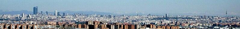 File:Panoramic of Madrid.jpg