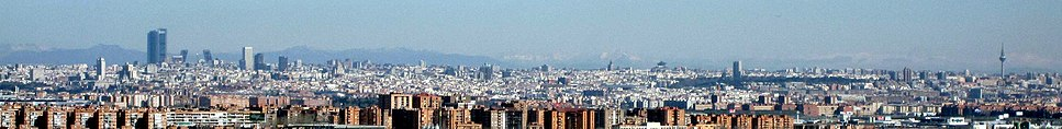Madrid seen from Buenavista Hill